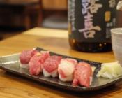 特選桜肉のにぎり寿司